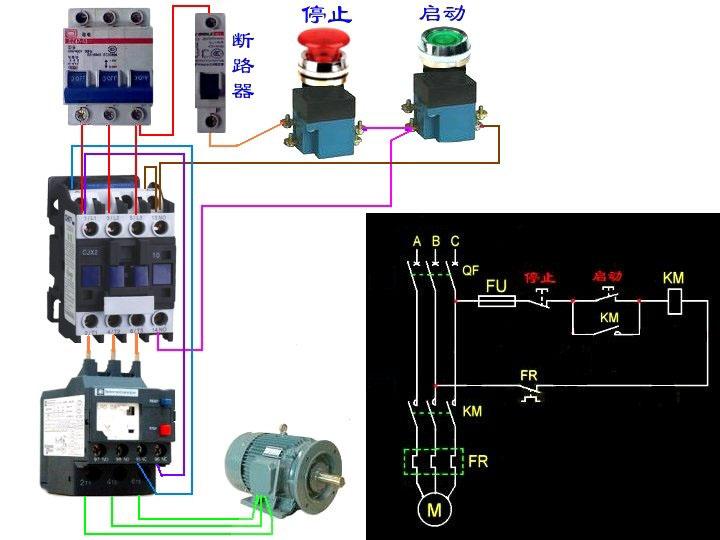 热继电器应如何选型安装及连接图
